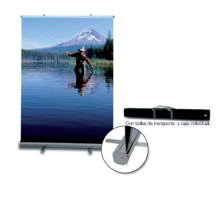 display Enrollable Roll Up
